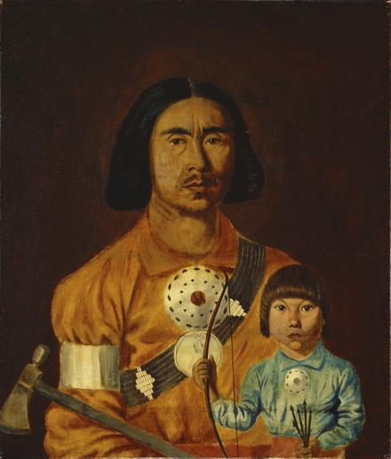 Zacharie Vincent et son fils Cyprien