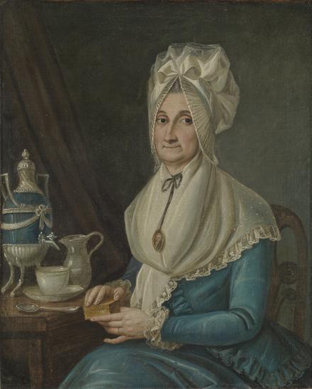 Madame Eustache Trottier Desrivières Beaubien, née Marguerite Malhiot