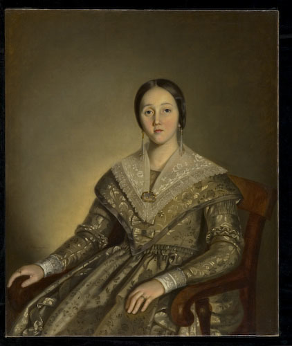 Madame Joseph Guillet dit Tourangeau, née Caroline Paradis