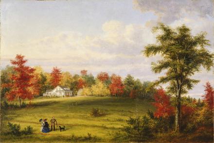 La Maison de campagne du capitaine John Walker, près de Québec
