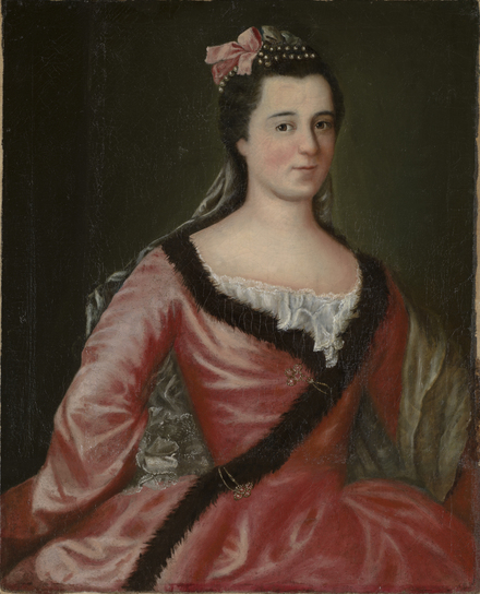 Madame Gaspard-Joseph Chaussegros de Léry, fils, née Louise Martel de Brouage