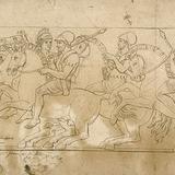 Étude d'après le bas-relief du Parthénon