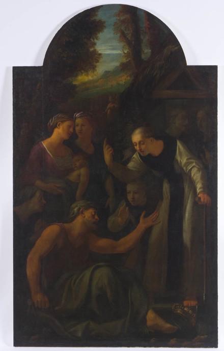 Saint Fiacre guérissant les malades