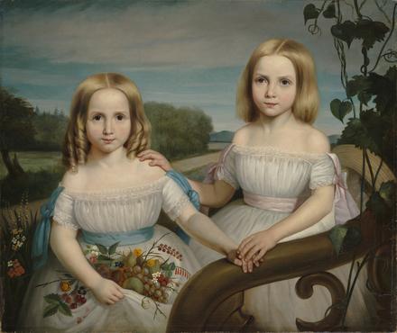 Olympe et Flore Chauveau