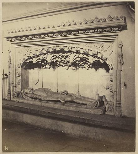Cathédrale d'Exeter, Memento Mori, de l'album du capitaine Frederick Stevenson