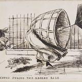 « A Sketch During the Regent Gale », de l'album du capitaine Frederick Stevenson