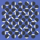 Groupe de ronds noirs