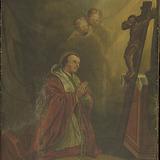 Saint Charles Borromée en prière
