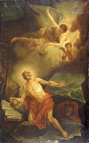 Saint Jérôme entendant la trompette du Jugement dernier (La Vision de saint Jérôme)