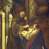 Saint François de Paule ressuscitant un enfant