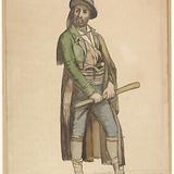 Homme en costume régional italien