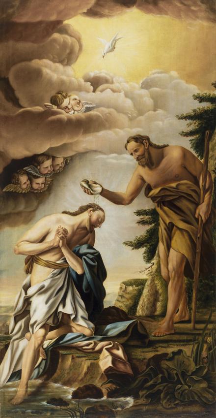 Le Baptême du Christ