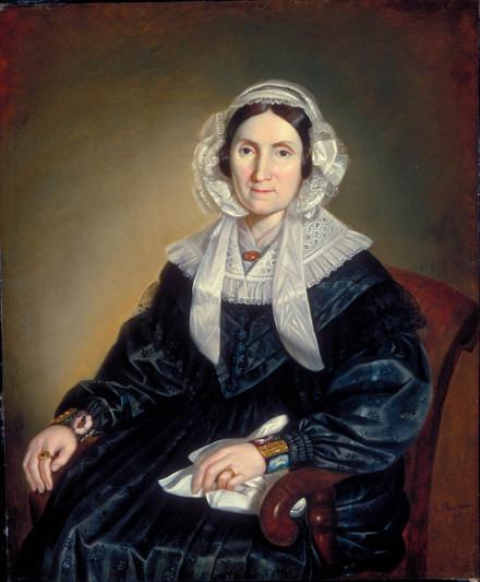 Madame Joseph Guillet dit Tourangeau, née Judith Kemner dit Laflamme