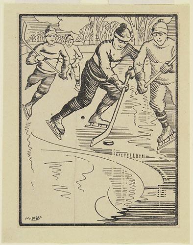 Joueurs de hockey, Jean-Paul, Père Harvey C.S.V.