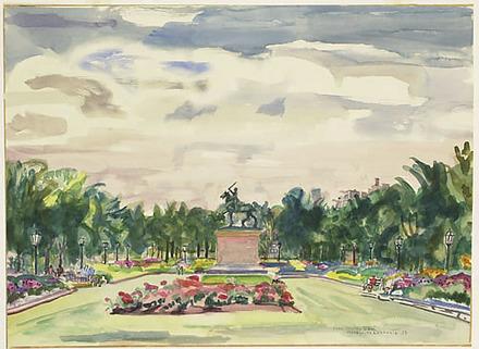Jardin Jeanne d'Arc