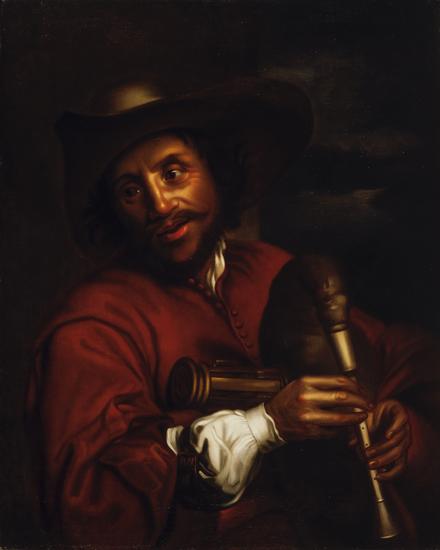 François Langlois ou Le Cornemuseur