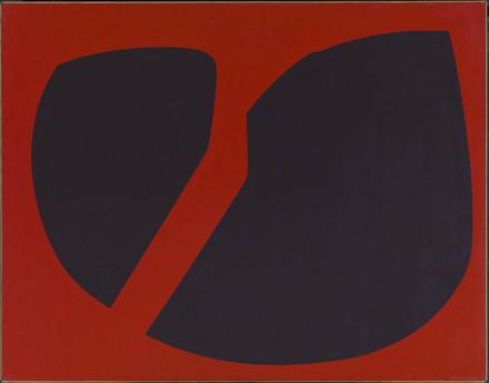 Chromatisme binaire rouge de Venise-bleu