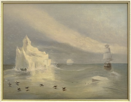 Iceberg dans le détroit de Belle Isle