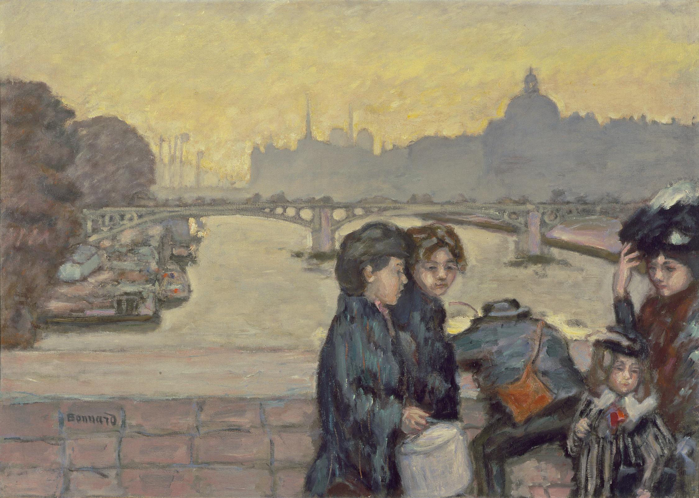 Bonnard - Paris, la rue, la vie