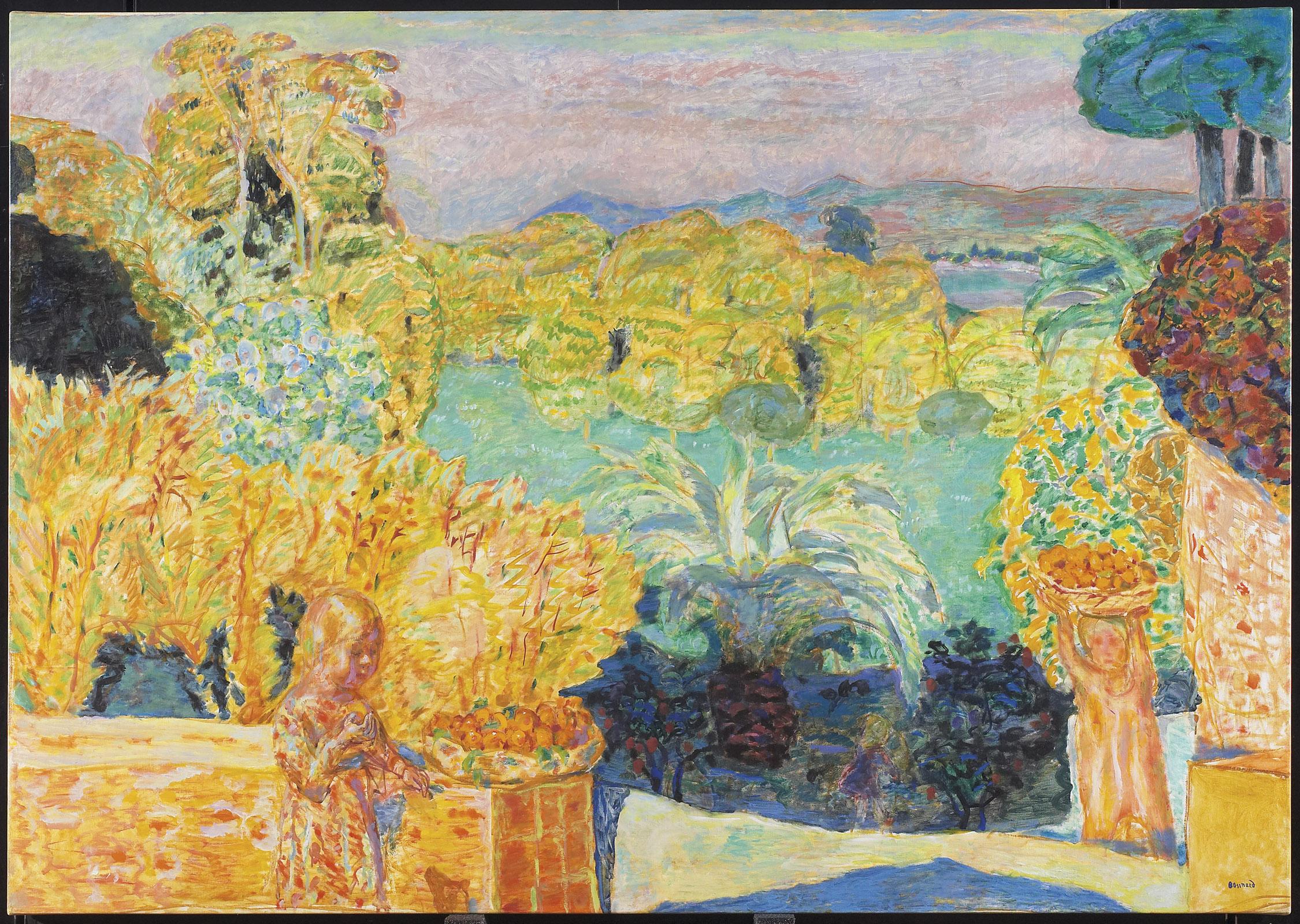 Bonnard - Paysages et rivages méditerranéens