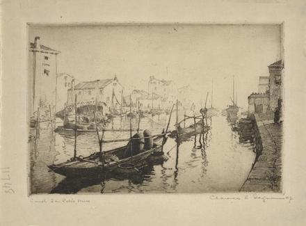 Canal San Pietro, Venise