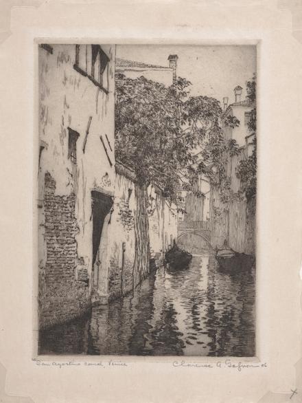 Canal San Agostino, Venise