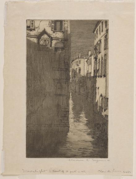 Clair de lune, Venise