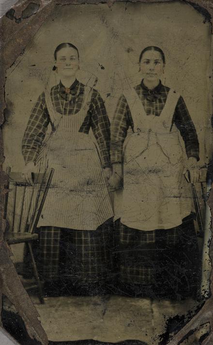 Portrait de deux femmes domestiques