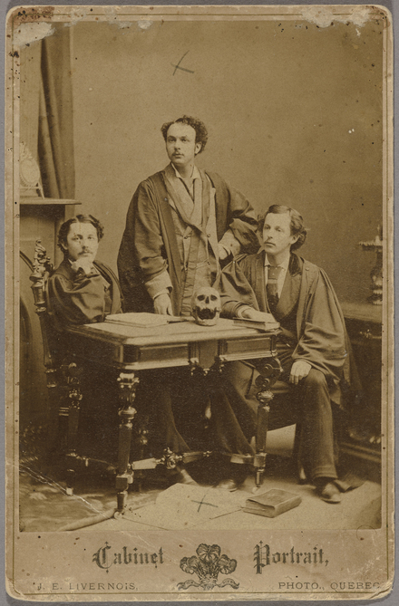 Les Docteurs Eugène Bédard, Thomas Lambert et Alphonse Méthot