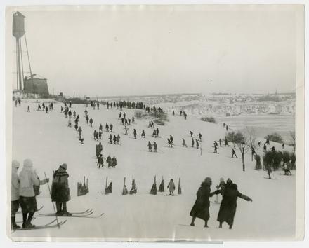 Sports d'hiver sur les plaines d'Abraham, Québec