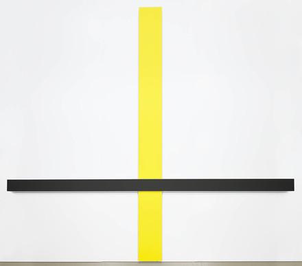 Fer de lance en noir et jaune