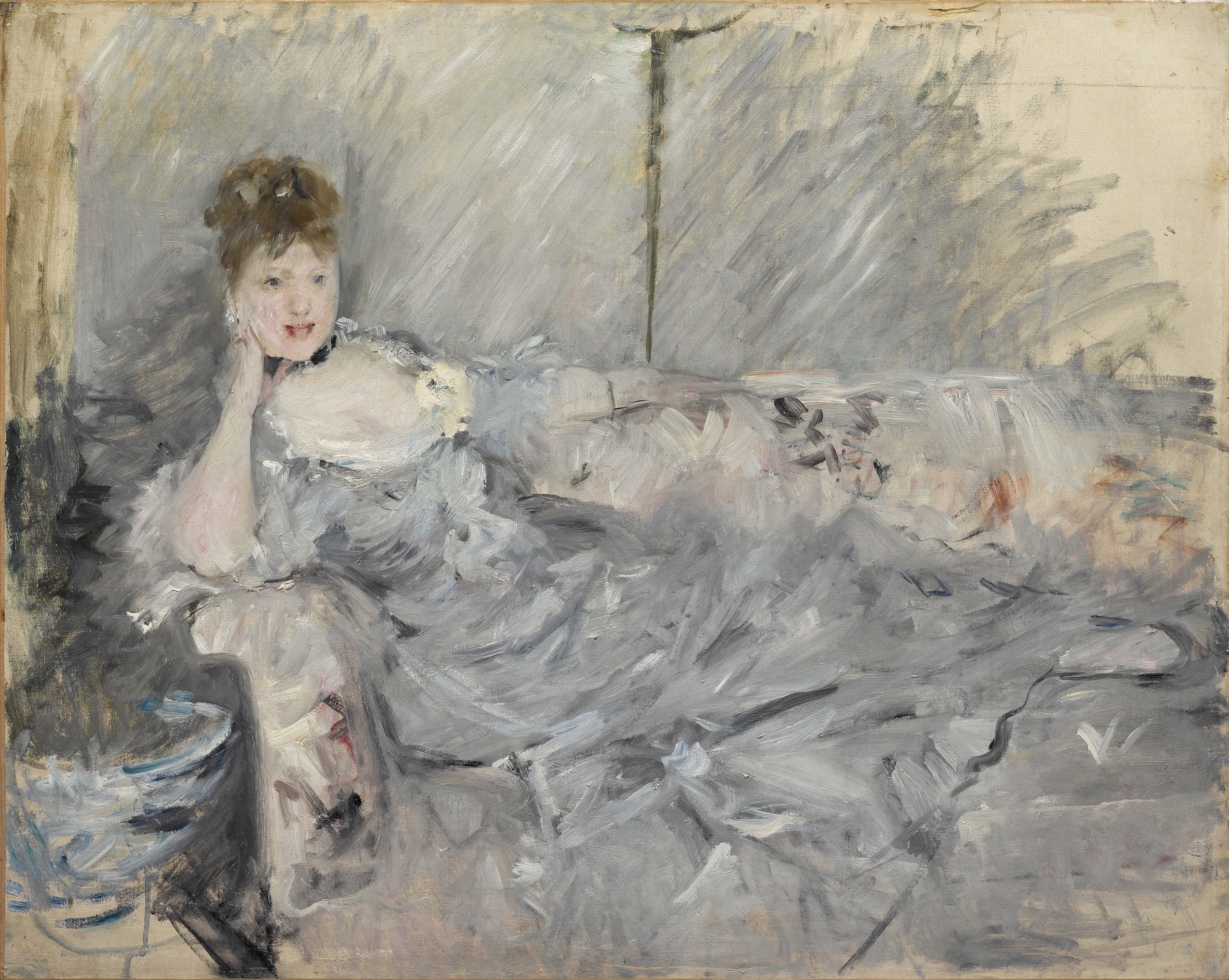 Berthe Morisot Woman Impressionist Past Exhibitions