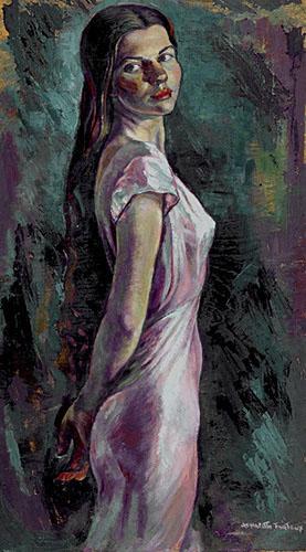 Henriette Fauteux-Massé, Portrait de jeune femme