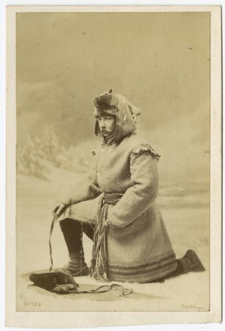 Arthur Dingwall Fordyce en costume d'hiver