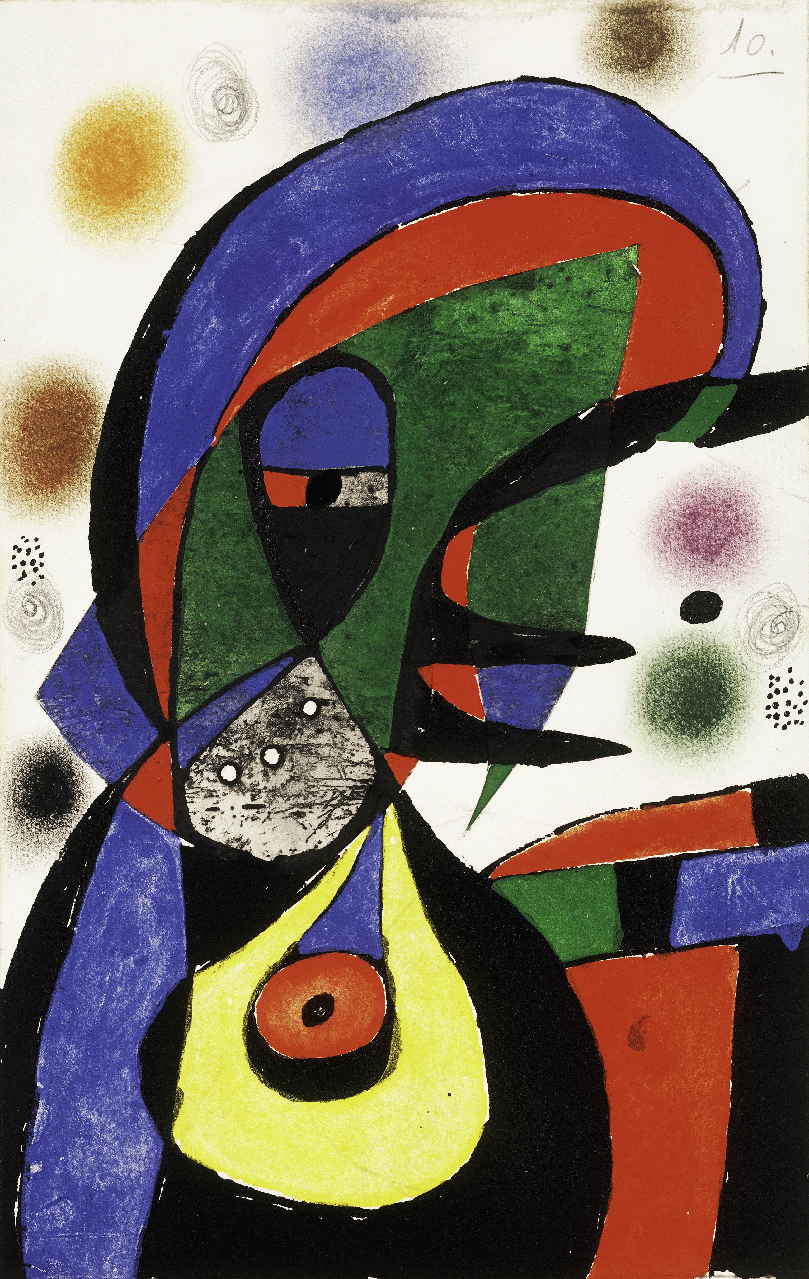 Miró, Maquette pour Gaudí