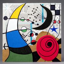 À la manière libre de Miró